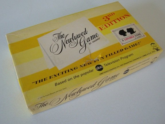Vintage 1969 Hasbro The Newlywed Game 3rd Edition