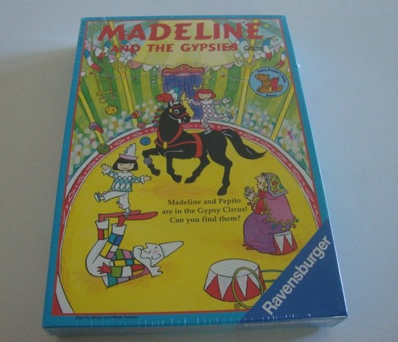 Vintage 1999 Ravensburger Madeline and the Gypsies Board Game