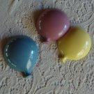 Vintage 1986 Burwood Products Plastic Balloon Wall Plaque