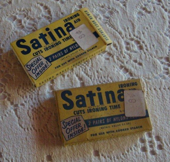 Vintage Satina Ironing Aid Cuts Ironing Time