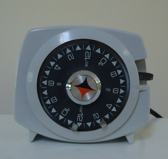 Vintage 1950s Intermatic Time-All Electronic Timer A211-6