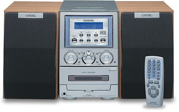 Vintage 2001 Aiwa XR-M200 Ultra-mini Desktop Audio System