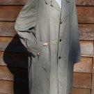 Vintage Vista 1 Mens Raincoat Topcoat - Size 42