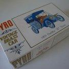 """Vintage 1967 Pyro 1909 Cadillac """"30"""" Tourer Model Car Kit #C458-125"""