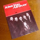 Vintage 1978 Kiss You All Over Sheet Music