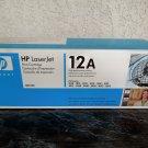 NOS HP Brand OEM 12A Genuine Toner Cartridge