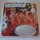 Vintage Luminarc Rivoli Wine Glasses in Orig Box
