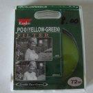 Kenko PO0 (Yellow Green) Filter 72mm SLR
