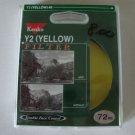Kenko Y2 (Yellow) #8 Filter 72mm SLR