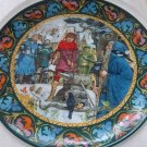"Vintage 1986 Wedgwood ""Arthur Draws the Sword"" Collectors Plate"