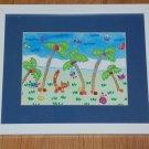 Suzette Delia Reiss Tropical Adventure Framed Prints - 2
