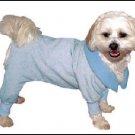 New Vo-Toys DoggieDuds Bow Wow Bear Sleepwear Blue XXS
