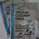 Vintage Weber Vacuum Cleaner Bags W-100 Set of 2