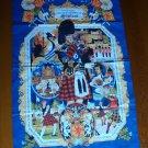 Vintage Pageants & Ceremonies of Scotland Tea Towel