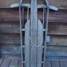 Antique Fleetwing SPRING TOP Flash Wooden Sled