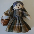 "Handmade in Ireland - ""The Great Hunger"" Fabric Doll"