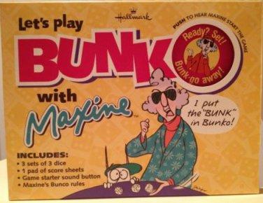 Hallmark Maxine Lets Play Bunko With Maxine