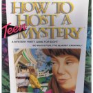 "MIB Vintage How to Host a Teen Mystery ""Hot Times at Hollywood High - Sealed in Box"