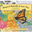 Vintage 1995 Smithsonian's Monarch Butterfly of Aster Way Read-Along Book & Audio Cassette Sealed
