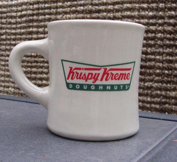 Vintage Krispy Kreme Diner Mug