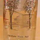 Vintage Glass Artist V. Cuthbert - Kleinhans Music Hall Buffalo Tumbler