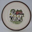 Vintage Metlox Poppytrail Colonial Heritage Dinner Plate Set of 2