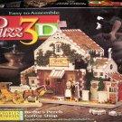 Vintage 1997 Puzz3D Charles Wysocki's Birdie's Perch Coffee Shop 221 Pc Puzzle - Used