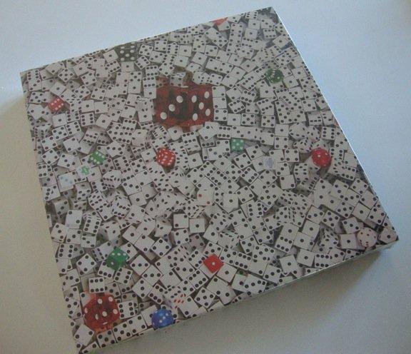 Vintage 1982 550 Piece Jigsaw Puzzle 7-11 Hoyle Dice MIB
