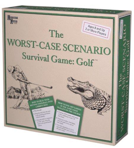 New - University Games 2002 The Worst Case Scenario Survival Game: Golf