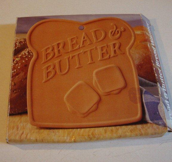 Vintage 1995 Boston Warehouse Terra Cotta Bread & Butter Bread Warmer