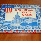 Vintage 1939 Diamond Toy AMERICA FIRST GAME Board game