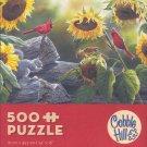 "2013 Susan Bourdet ""Sunflower Buffet"" 500 Piece Puzzle"