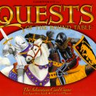 1996 Gamewright Quests of the Round Table Game