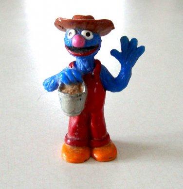 Vintage JHP Sesame Street Farmer Grover Figurine