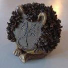 Vintage Stoneware Lion Sculpture