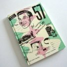 Year 1957 Theme Cover - Notebook Lined Pages Blank Journal