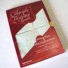 Beinfang Calligraphic Parchment Paper Ensemble 50 Sheets 20 Envelopes NOS