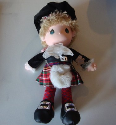 Vintage 1985 Precious Moments Scottish Eric Doll