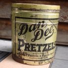 Vintage Dan Dee Pretzel Tin