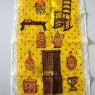 Vintage Linen Tea Towel - Colonial Pennsylvania Dutch Design