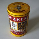 Vintage 1984 Quaker Oats Reproduction Advertising Tin