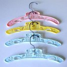 Vintage Plastic Child / Infant Hangers - Lambs, Carousel, Set of 4