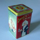Vintage 1980s Droste's Cacao Haarlem Holland Advertising Tin