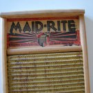 Vintage Maid-Rite No 2062 Washboard -  Columbus Washboard Co.