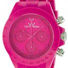 Toy Watch Monochrome Chronograph Shocking Pink Dial Watch MO10PS