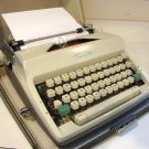 Vintage Olympia Deluxe SM9 Portable Typewriter & Case