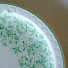 Vintage Syracuse China Roxbury Green Luncheon Plate - Set of 2