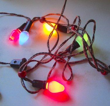 Vintage Noma Electric Corp. Christmas Tree Light Strand