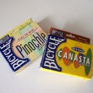 Vintage 2000 Bicycle Pinochle & Canesta Card Games