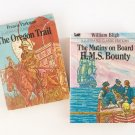 Vintage Moby Little Books - The Oregon Trail & The Mutiny on Board H.M.S. Bounty